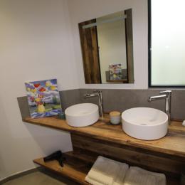 Salle d'eau - Location de vacances - Vittel