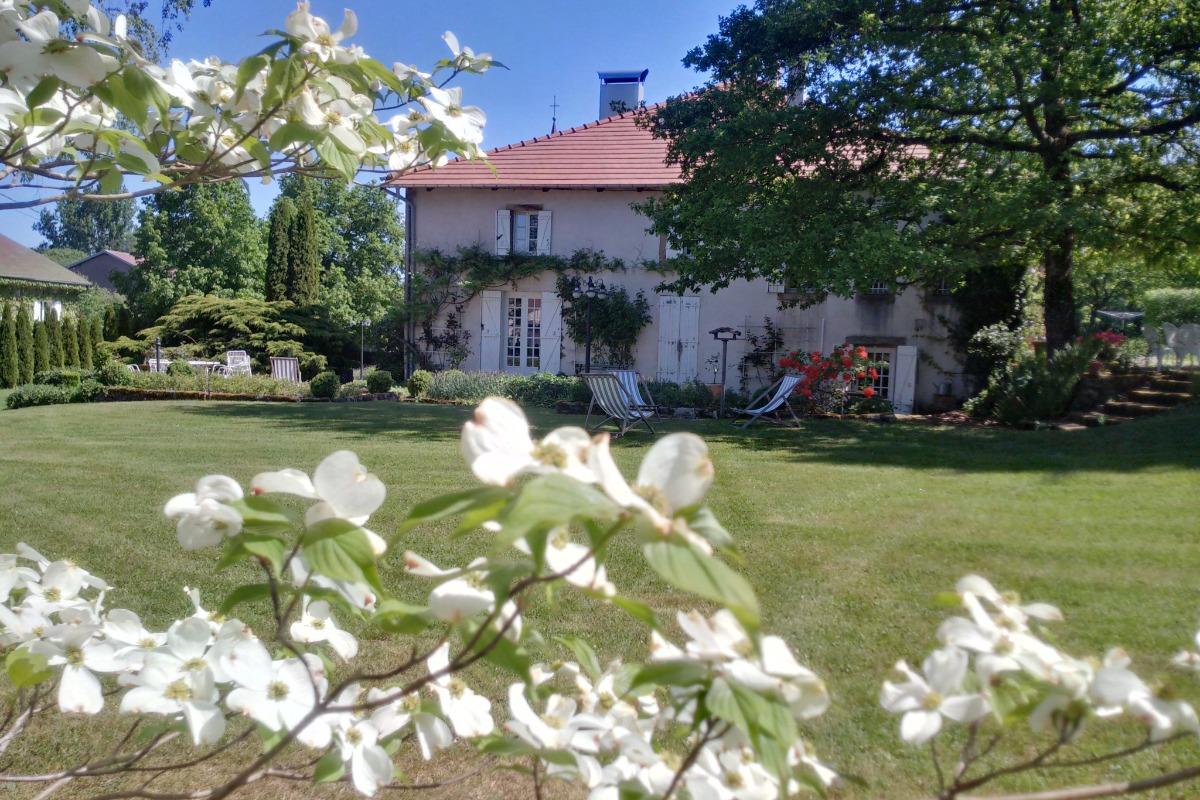 Parc et jardin - Chambre d'hôtes le Prieuré - Chambre d'hôtes - Aydoilles