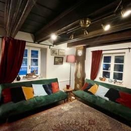 Deuxième salon lecture - Location de vacances - Le Valtin