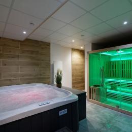 Spa / Sauna - Gîte la Vosgienne - Location de vacances - Sapois