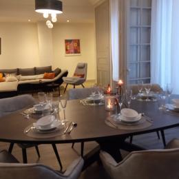 Appartement Centre Gare - Séjour Salon - Location de vacances - Saint-Dié-des-Vosges