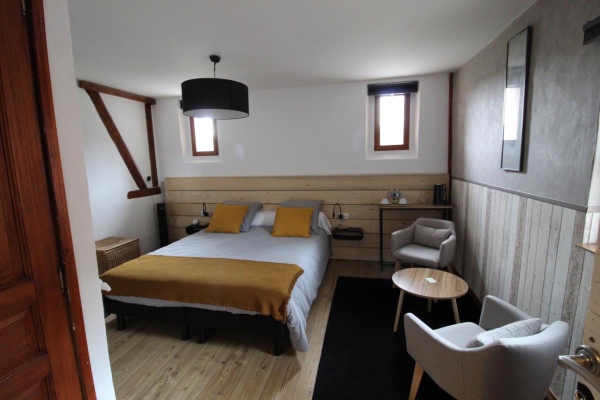 Chambre La Schlucht 1er étage - Domaine Le Chêne Vosges - Chambre d'hôtes - Ban-sur-Meurthe-Clefcy