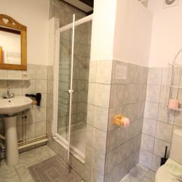 Salle d'eau Chambre Hohneck Domaine Le Chêne Vosges - Chambre d'hôtes - Ban-sur-Meurthe-Clefcy