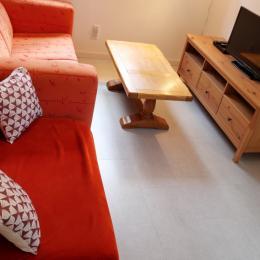Espace vasque dans chambre - Gîte Myrtille - Location de vacances - Taintrux
