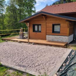 terrasse avec table 12 convives + table enfant, barbecue ,spa privatif - Location de vacances - Xonrupt-Longemer