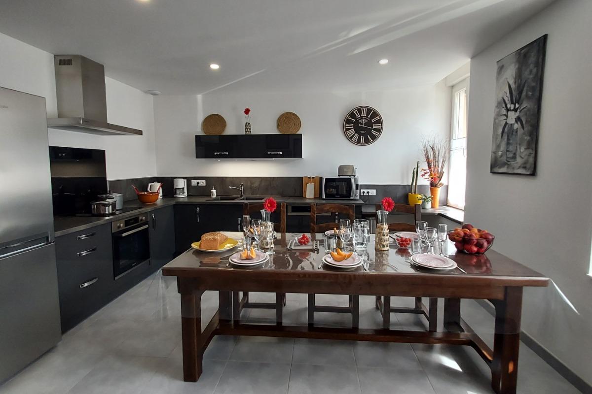 Espace cuisine - Location de vacances - Gérardmer