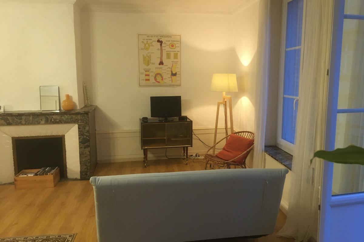 Espace salon - Apt. Hector La Couronne by Franck et Virginie - Location de vacances - Plombières-les-Bains