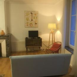 Espace salon - Hector La Couronne by Franck et Virginie - Location de vacances - Plombières-les-Bains