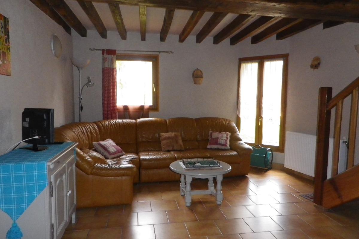Salon  - Location de vacances - Treigny