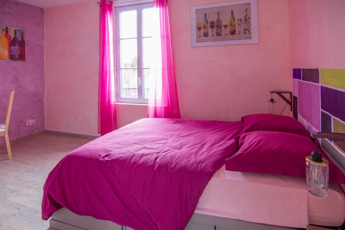 Chambre double - Chambre d'hôtes - Mailly-la-Ville