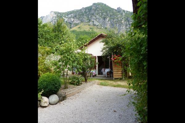 la terrasse - Location de vacances - Surba