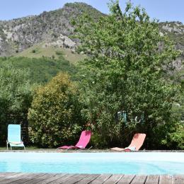 salon détente - Location de vacances - Surba