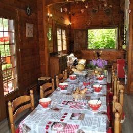 le coté salle à manger - Location de vacances - Ax - Station D'Ax 3 Domaines
