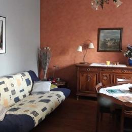le salon - Location de vacances - Lorp-Sentaraille
