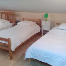 Chambre 3 lits - Location de vacances - Appy