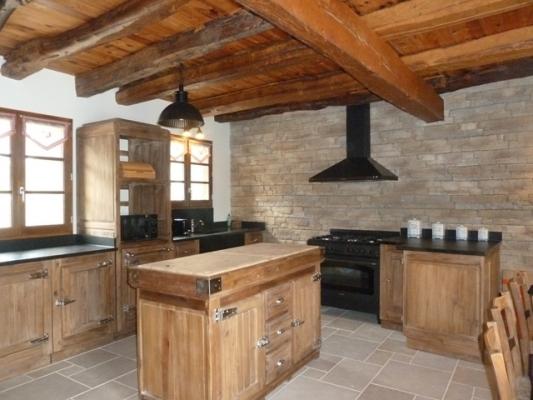 La cuisine - Location de vacances - Arrien-en-Bethmale