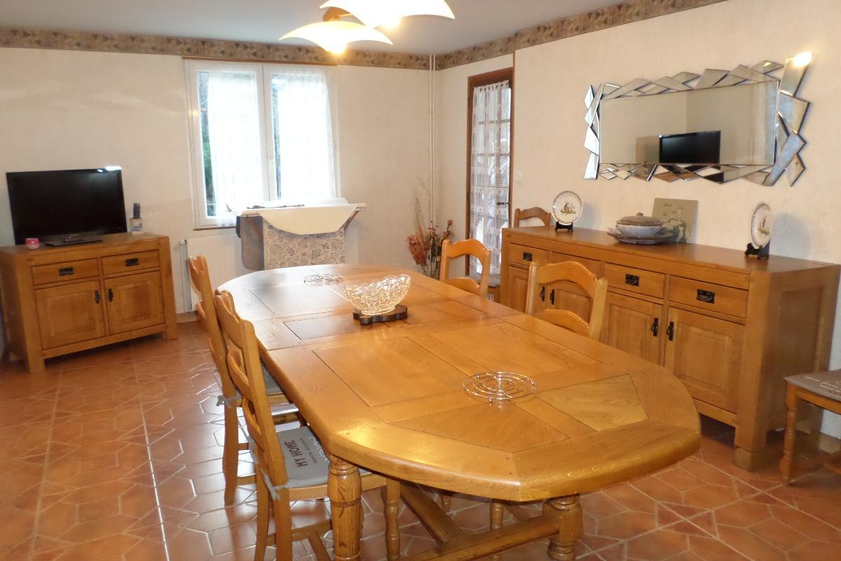 salle de séjour - Location de vacances - Siguer
