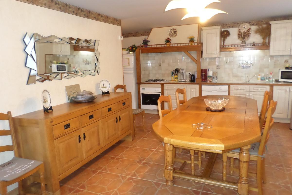 salle séjour - Location de vacances - Siguer