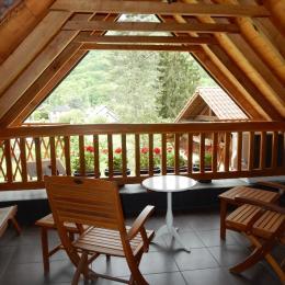 Terrasse - Location de vacances - Moulis