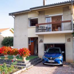Extérieur villa coté droit - Location de vacances - Saint-Girons