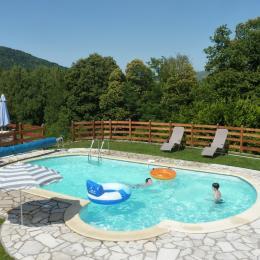 piscine - Location de vacances - Serres-sur-Arget