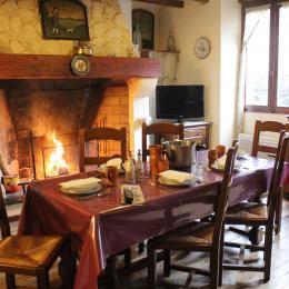 Salle à manger - Location de vacances - Château-Verdun