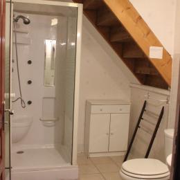 salle d'eau - Location de vacances - Château-Verdun