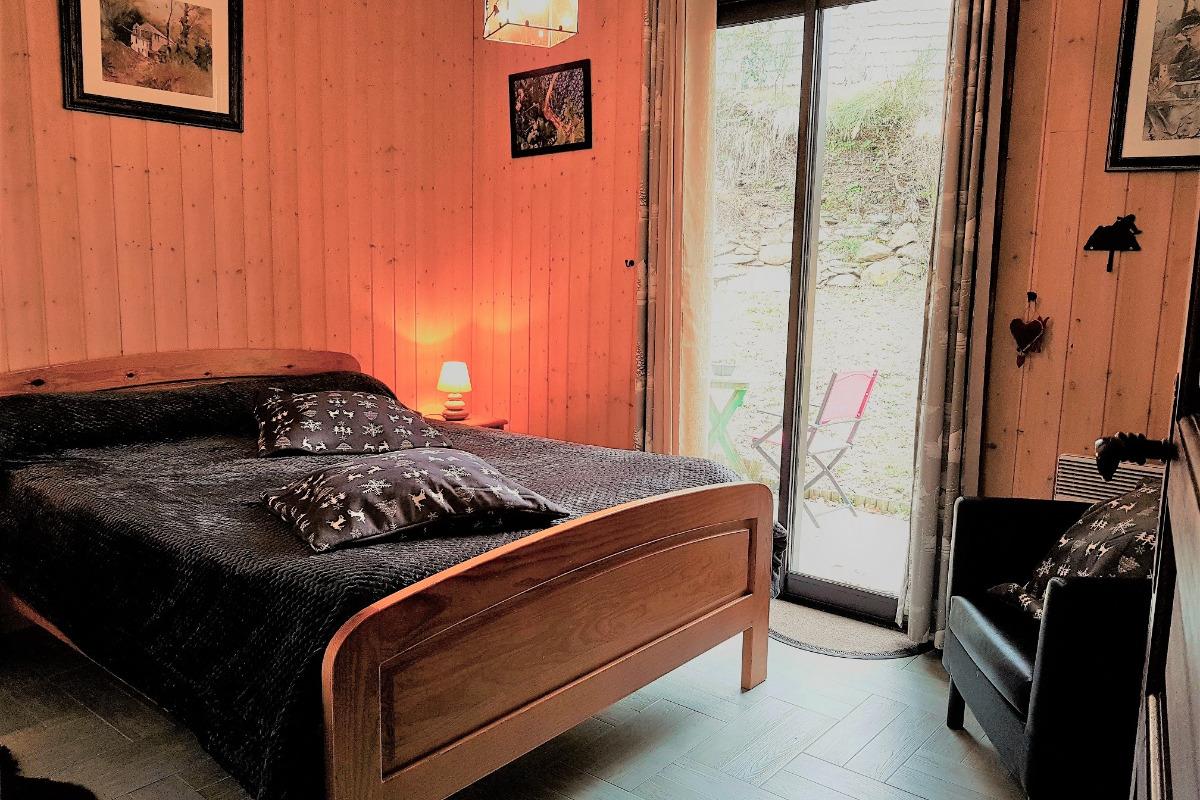 chambre myrtille - Chambre d'hôtes - Ignaux