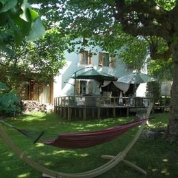 terrasse, jardin Hamac plein sud - Chambre d'hôtes - Lasserre