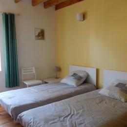 Chambre 3 - Location de vacances - Lézat-sur-Lèze