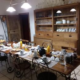 PETIT déjeuner - Chambre d'hôtes - Tarascon-sur-Ariège
