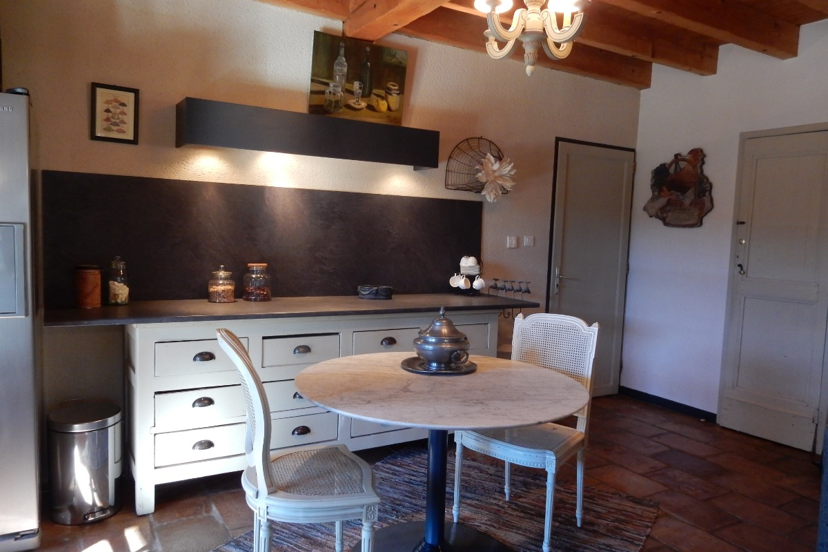 Cuisine - Location de vacances - Lasserre