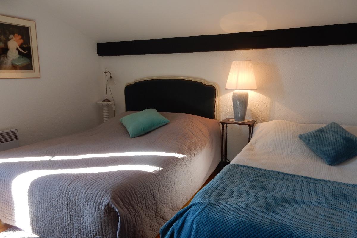 Chambre Morgan - Location de vacances - Lasserre