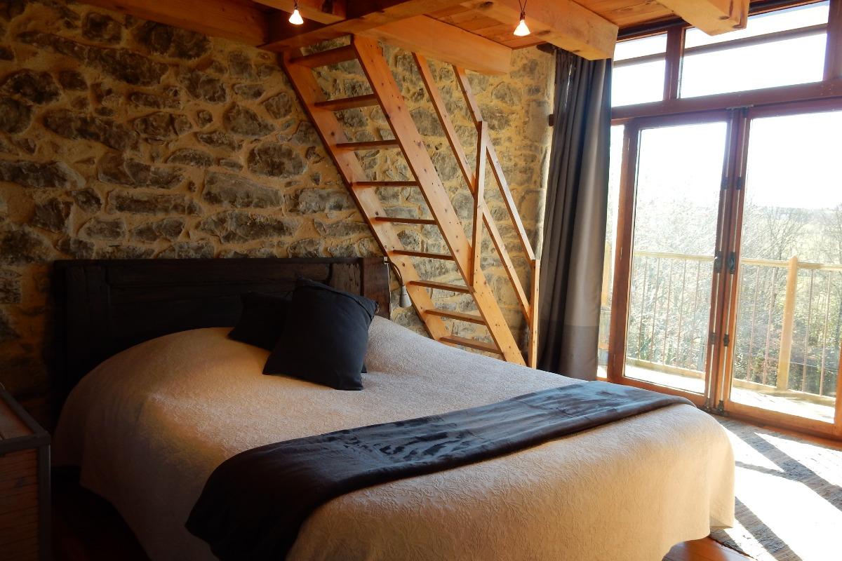 Chambre Balcon - Location de vacances - Lasserre