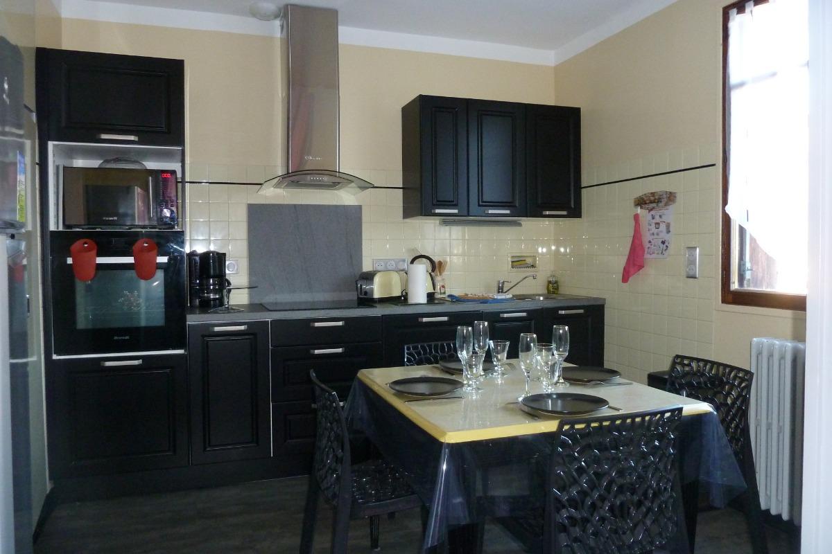 Vue de la cuisine - Location de vacances - Ferrières-sur-Ariège