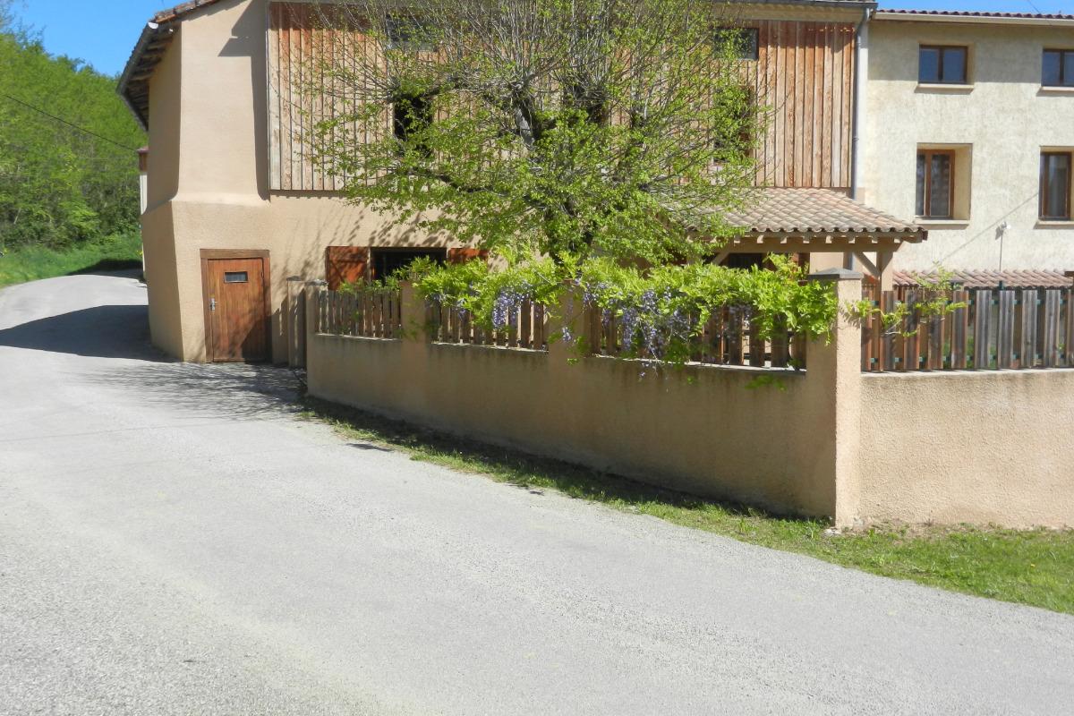 facade principale - Location de vacances - Montégut-Plantaurel