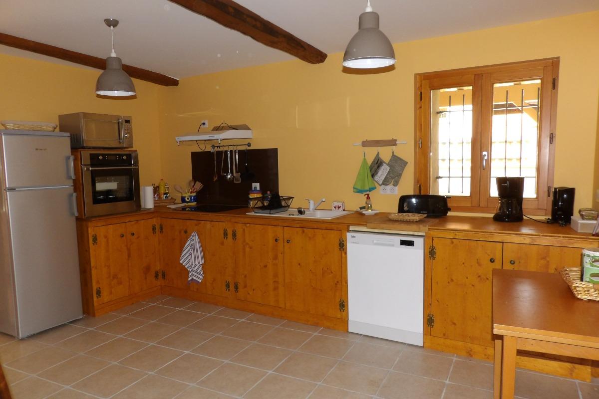 Cuisine - Location de vacances - Montégut-Plantaurel