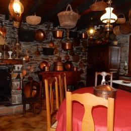 Salle petit déjeuner - Chambre d'hôtes - Unac