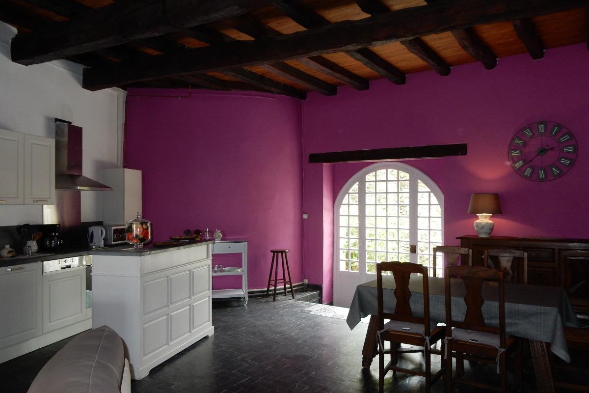 Accès cour intérieure - Location de vacances - Saint-Lizier