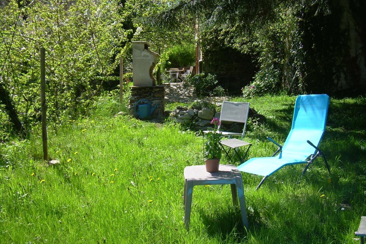 Coin jardin - Location de vacances - Montferrier