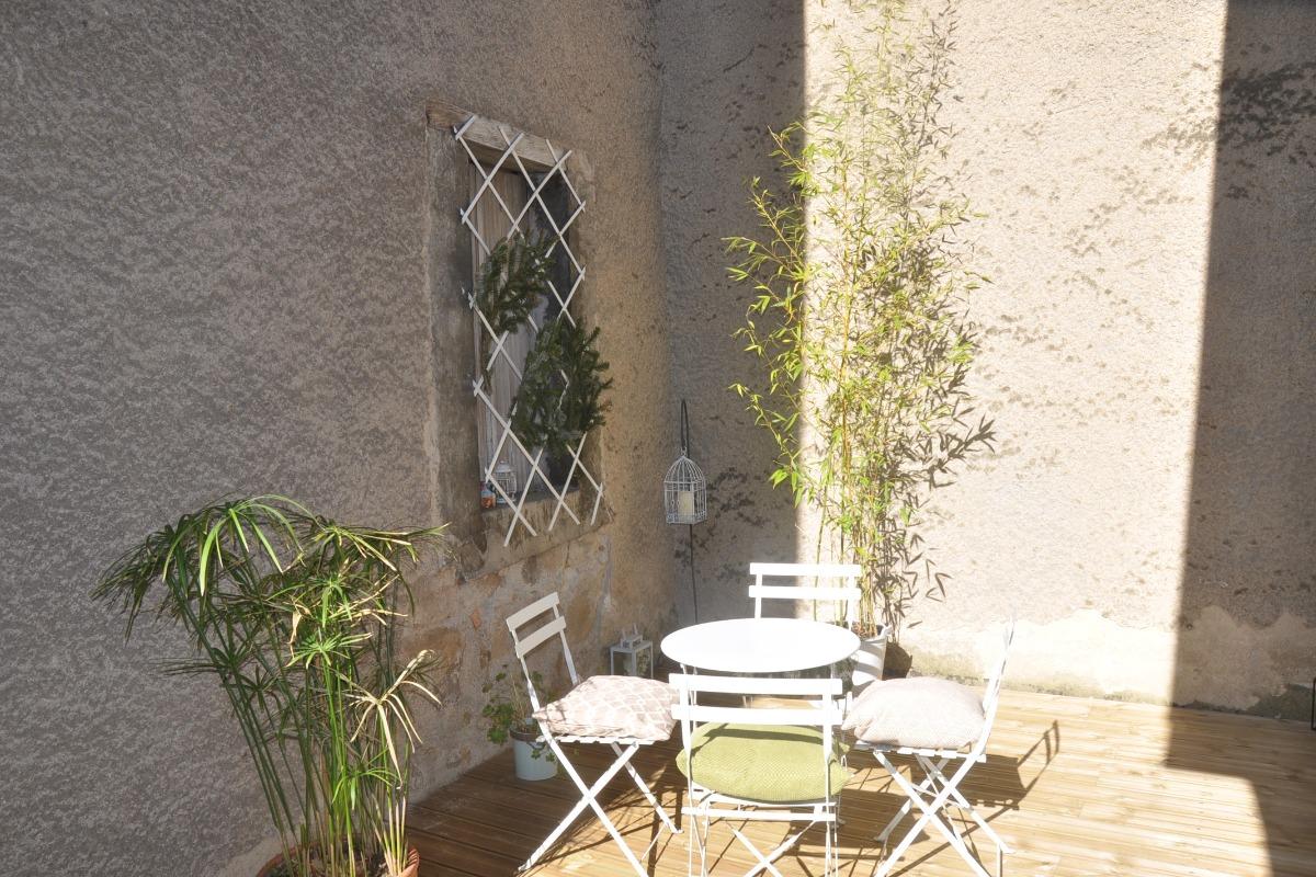 Terrasse - Location de vacances - Villeneuve-d'Olmes