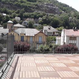 Porte-fenêtre accès terrasse - Location de vacances - Ax-les-Thermes