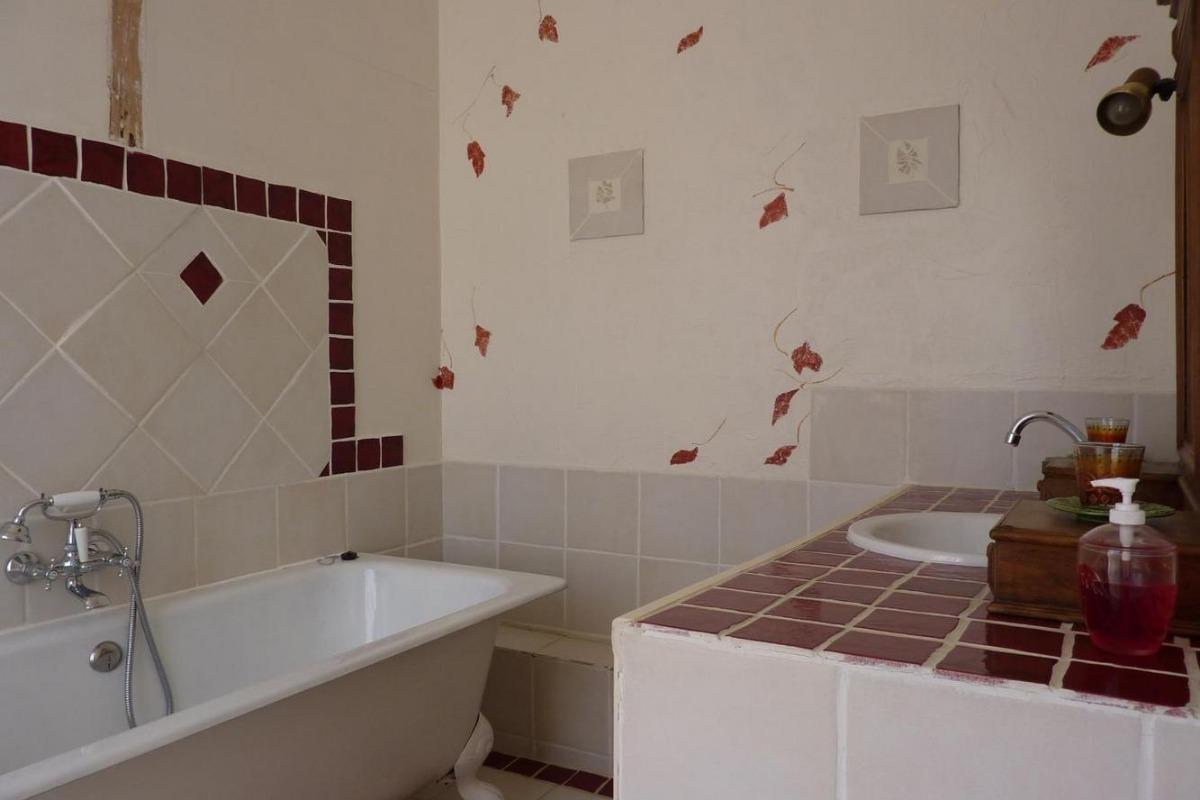 Salle de bain Le Bosquet - Chambre d'hôtes - Rieucros