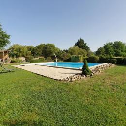 La piscine - Chambre d'hôtes - Rieucros