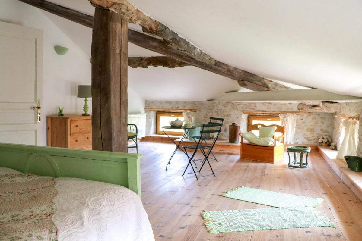 Chambre Le Jardin - Chambre d'hôtes - Rieucros