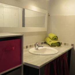 Salle d'eau Chambre Verte - Chambre d'hôtes - Auzat