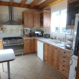 Chambre avec un lit en 140 cm - Location de vacances - Ignaux