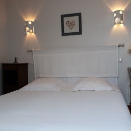 Le lit 160 - Chambre d'hôtes - Bavilliers