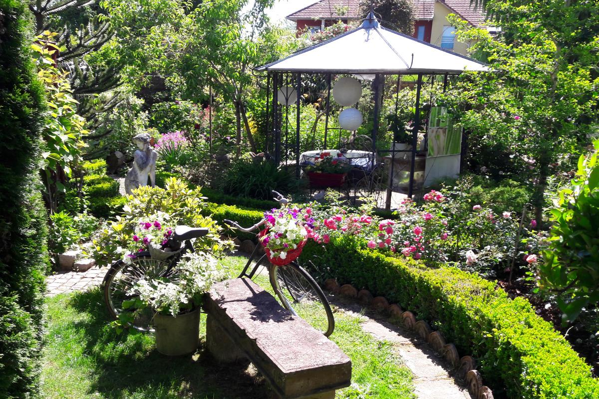 Splendide jardin - Location de vacances - Essert