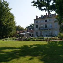 Vue du jardin - Chambre d'hôtes - Bures-sur-Yvette